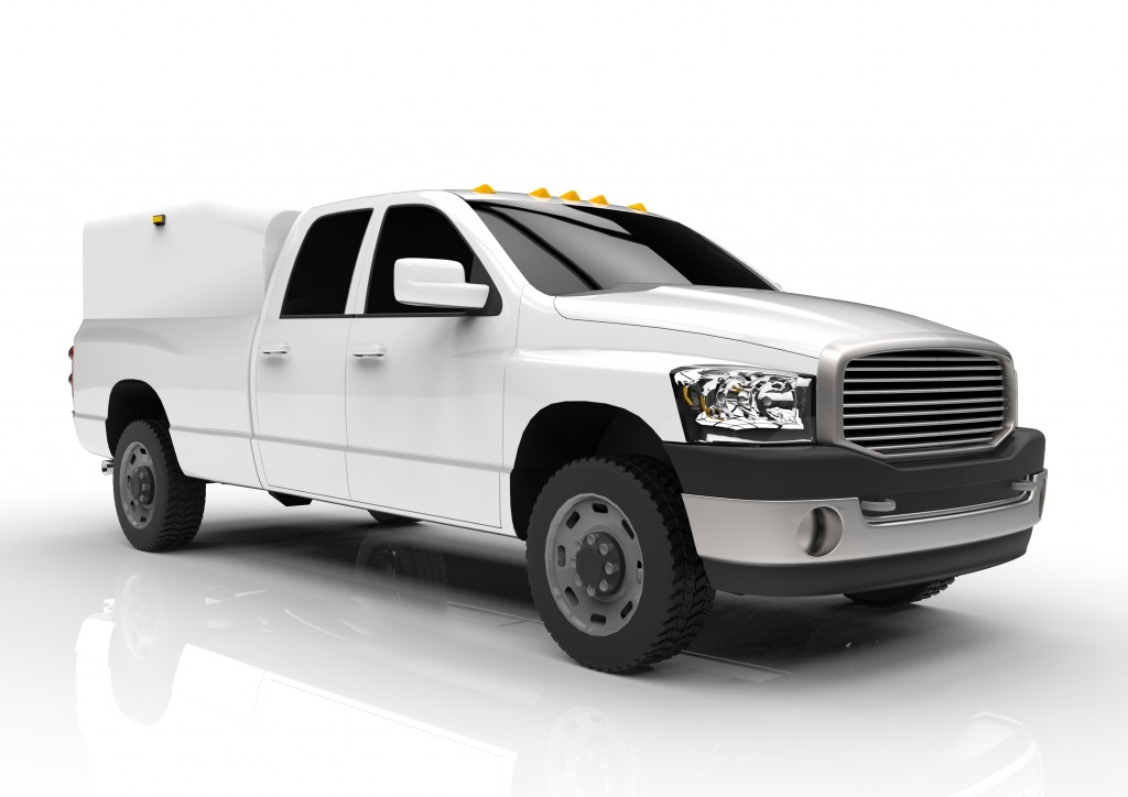 Delivery pickup truck